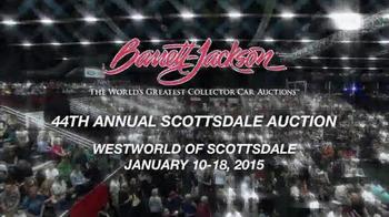Barrett-Jackson 44th Annual Scottsdale Auction TV Spot, 'January 2015' - Thumbnail 1
