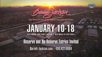 Barrett-Jackson 44th Annual Scottsdale Auction TV Spot, 'January 2015' - Thumbnail 10