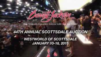 Barrett-Jackson 44th Annual Scottsdale Auction TV Spot, 'January 2015' - Thumbnail 5
