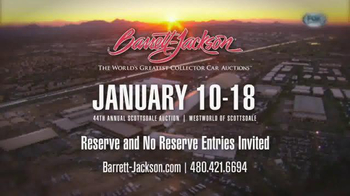 Barrett-Jackson 44th Annual Scottsdale Auction TV Spot, 'January 2015' - Thumbnail 8