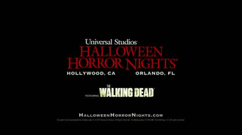 Universal Studios Hollywood Halloween Horror Nights TV Spot, 'Walking Dead' - Thumbnail 10