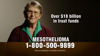 MRHFM Law Firm TV Spot, 'Mesothelioma: Over $18 Billion in Trust Funds'