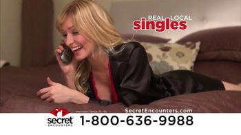 Secret Encounters TV Spot, 'Sexy Singles' - Thumbnail 3