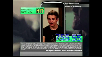 Jamster Ringtones TV Spot Featuring Hunter Hayes