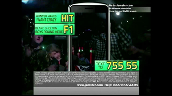 Jamster Ringtones TV Spot Featuring Hunter Hayes - Thumbnail 2