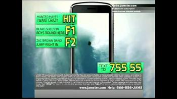 Jamster Ringtones TV Spot Featuring Hunter Hayes - Thumbnail 4