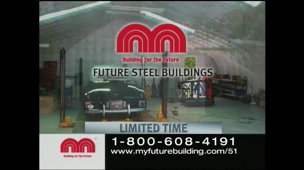Future Buildings TV Commercial, 'Workshop Garage'