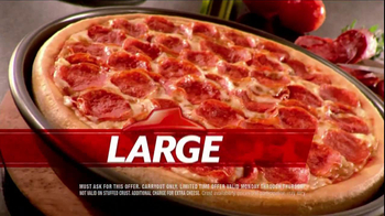 Pizza Hut $6.55 Large One-Topping Carryout TV Spot - Thumbnail 6