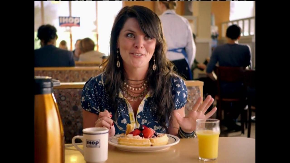 IHOP TV Commercial, 'Fruit & Cream Topped Waffles'