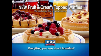IHOP TV Spot, 'Fruit & Cream Topped Waffles' - Thumbnail 10