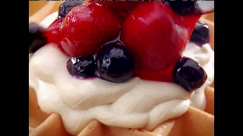 IHOP TV Spot, 'Fruit & Cream Topped Waffles' - Thumbnail 3