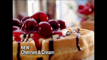 IHOP TV Spot, 'Fruit & Cream Topped Waffles' - Thumbnail 5