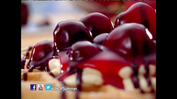 IHOP TV Spot, 'Fruit & Cream Topped Waffles' - Thumbnail 9