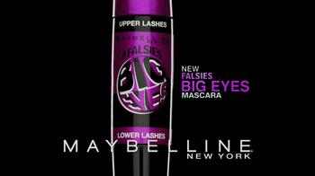 Maybelline New York Falsies Big Eyes TV Spot - Thumbnail 9