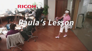Ricoh Managed Document Services TV Spot, 'Paula's Lesson' Ft.Paula Creamer - Thumbnail 1