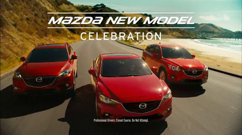 Mazda New Model Celebration TV Spot, 'Bikinis'