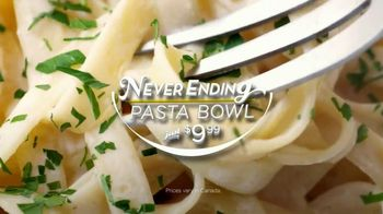 Olive Garden Never Ending Pasta TV Spot, 'Unlimited'