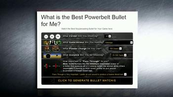 Powerbelt Bullets TV Spot - Thumbnail 9