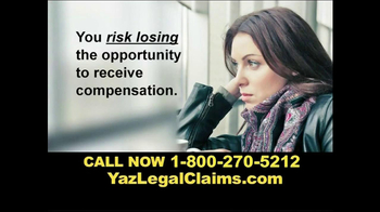 Kyros Law Group TV Spot, \'Yaz Legal Claims\'