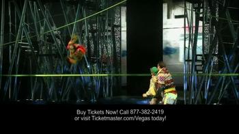 Cirque du Soleil Las Vegas TV Spot - Thumbnail 3