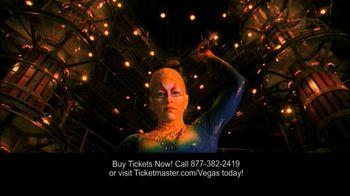 Cirque du Soleil Las Vegas TV Spot
