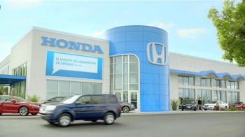 Honda Evento de Liquidación de Verano TV Spot, 'Normanjct' [Spanish] - Thumbnail 2