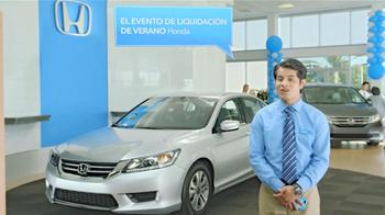 Honda Evento de Liquidación de Verano TV Spot, 'Normanjct' [Spanish] - Thumbnail 6