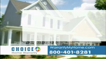 Choice Home Warranty TV Spot - Thumbnail 4