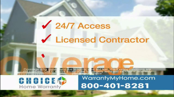 Choice Home Warranty TV Spot - Thumbnail 5
