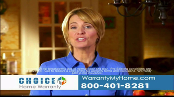 Choice Home Warranty TV Spot