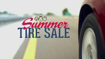 PepBoys Summer Tire Sale TV Spot
