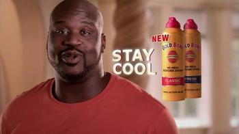 Gold Bond TV Spot 'Stay Cool' Featuring Shaq - Thumbnail 6