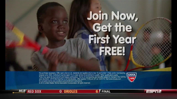United States Tennis Association (USTA) TV Spot, 'First Year Free'