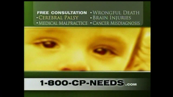 1-800-CP-NEEDS TV Spot