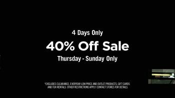 Men's Wearhouse 40% Off Sale TV Spot, 'Sense of Style' - Thumbnail 5