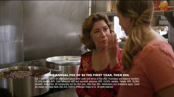 Chase Sapphire TV Spot Featuring Chef Sue Zemanick - Thumbnail 9
