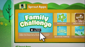 Sprout Apps TV Spot, 'Family Challenge'