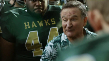 Snickers TV Spot, \'Football Coach\' Featuring Robin Williams