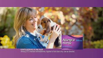 Allegra TV Spot, 'Puppy' - Thumbnail 9