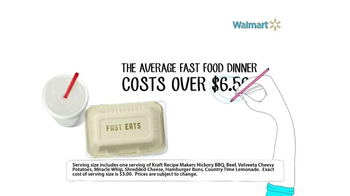 Walmart TV Spot, 'Fast Food' - Thumbnail 2