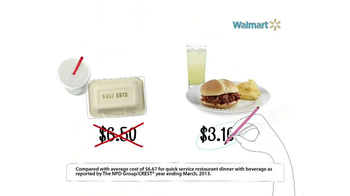 Walmart TV Spot, 'Fast Food' - Thumbnail 7