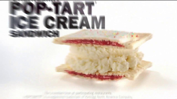 Carl's Jr. Strawberry Poptart Ice Cream Sandwich TV Spot - Thumbnail 6