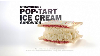 Carl's Jr. Strawberry Poptart Ice Cream Sandwich TV Spot - Thumbnail 7