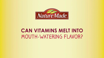 Nature Made VitaMelts TV Spot, 'Mouth-Watering Flavor' - Thumbnail 1