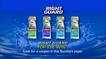 Right Guard Body Wash TV Spot - Thumbnail 8