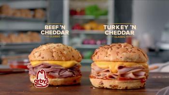 Arby's Beef 'N Cheddar and Turkey 'N CheddarTV Spot Featuring Bo Dietl - Thumbnail 9