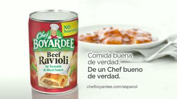 Chef Boyardee Beef Ravioli TV Spot [Spanish] - Thumbnail 9