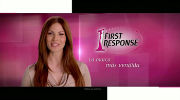 First Response TV Spot, \'Imaginate\' [Spanish]