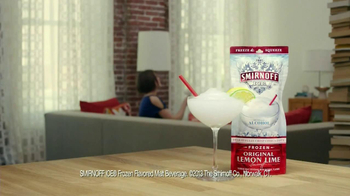 Smirnoff Ice Frozen Original Lemon Lime TV Spot, 'Before Dinner' - Thumbnail 8