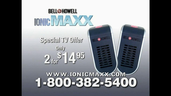 Bell + Howell Ionic Maxx TV Spot - Thumbnail 8